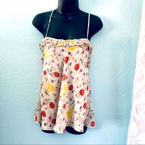 Express boho floral tank top. Size small